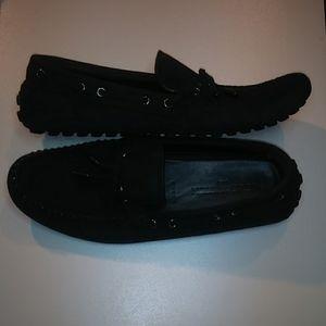 Louis Vuitton loafers black. US Size 11